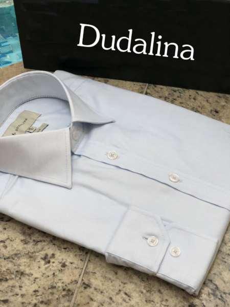 viaandrea camisa dudalina manga longa maquinetado