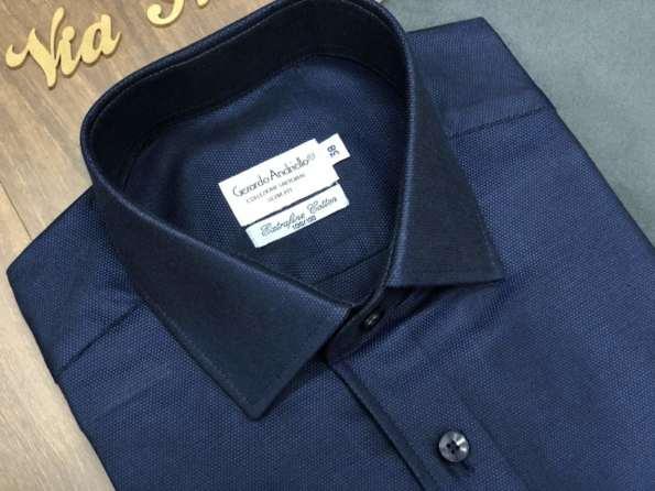 viaandrea camisa fideli manga longa extrafine cotton 3
