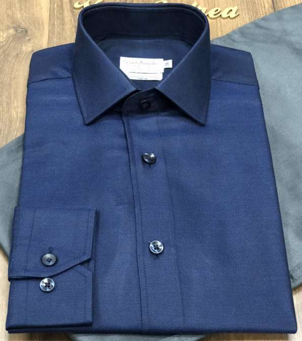 viaandrea camisa fideli manga longa extrafine cotton 4