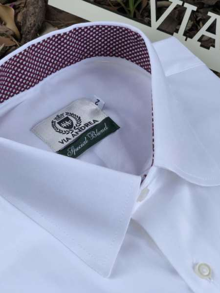 viaandrea camisa via andrea manga curta basica 5
