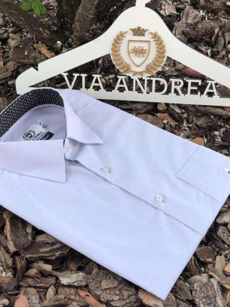 viaandrea camisa via andrea manga curta maquinetado 6