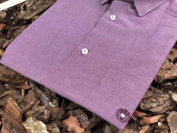 viaandrea camisa via andrea manga curta micro estampa 6