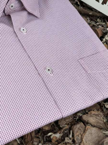 viaandrea camisa via andrea manga curta micro estampa maquinetada 1