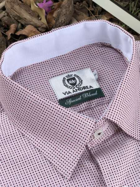 viaandrea camisa via andrea manga longa micro estampa 14