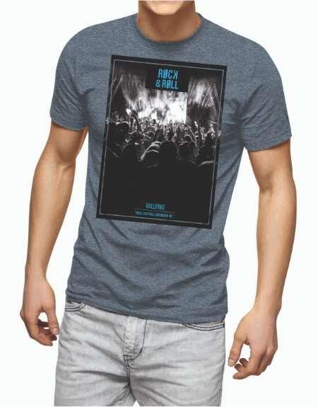 viaandrea t shirt all free rock e roll