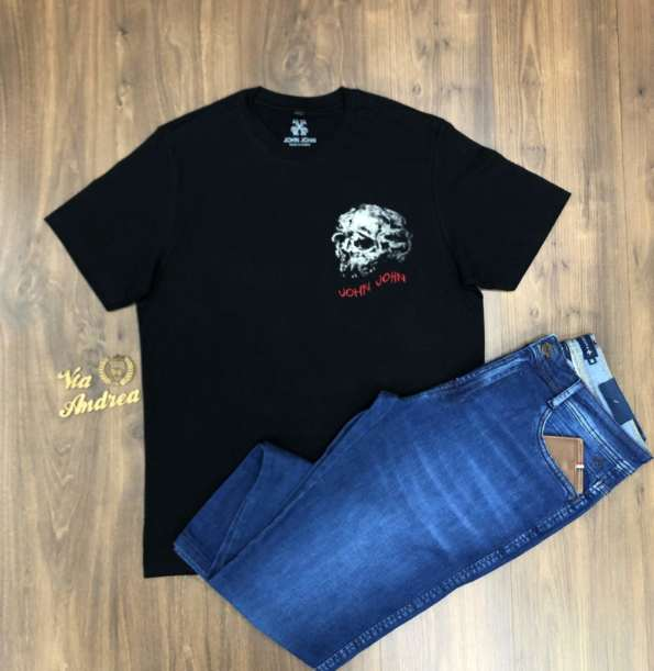 viaandrea t shirt john john jaw skull 1