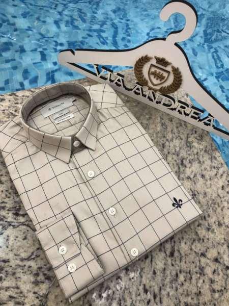 viaandrea camisa via andrea manga curta 11