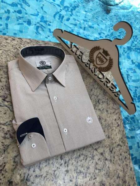 viaandrea camisa via andrea manga longa 8