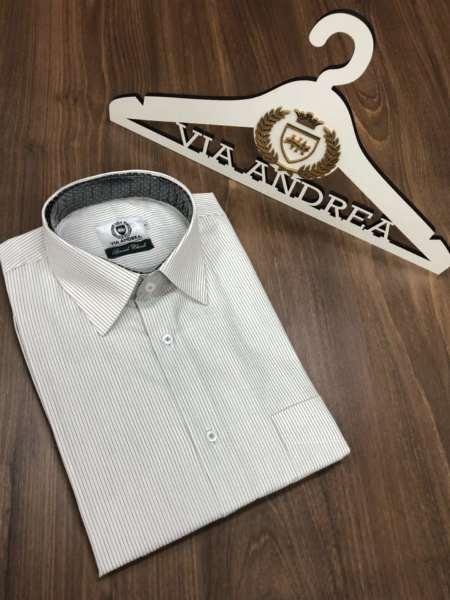 viaandrea camisa via andrea manga curta 4