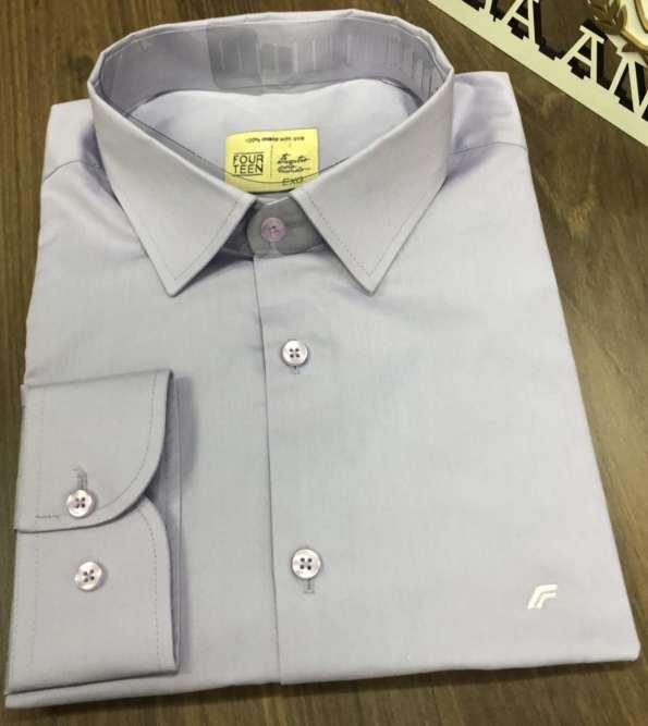viaandrea camisa slim four teen basica 1