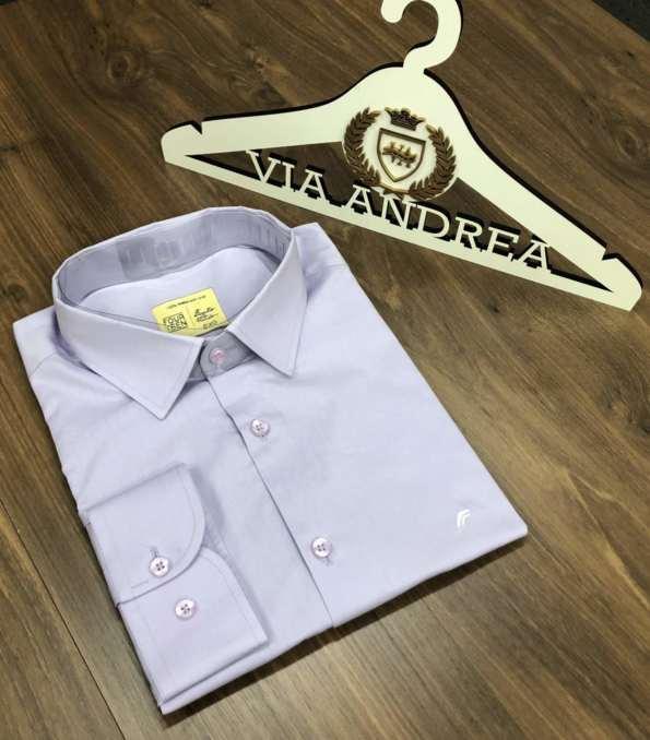 viaandrea camisa slim four teen basica 2