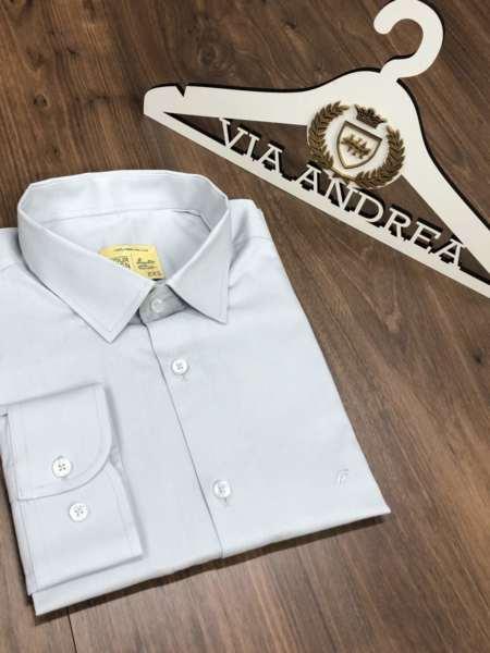 viaandrea camisa slim four teen basica 6