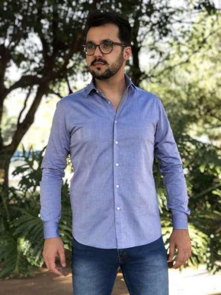 viaandrea camisa fideli manga longa longa maquinetada 1