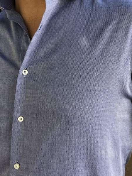 viaandrea camisa fideli manga longa longa maquinetada