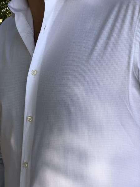 viaandrea camisa fideli manga longa quadriculada 1