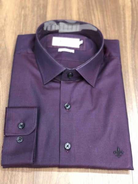 viaandrea camisa dudalina confort manga longa roxo 1