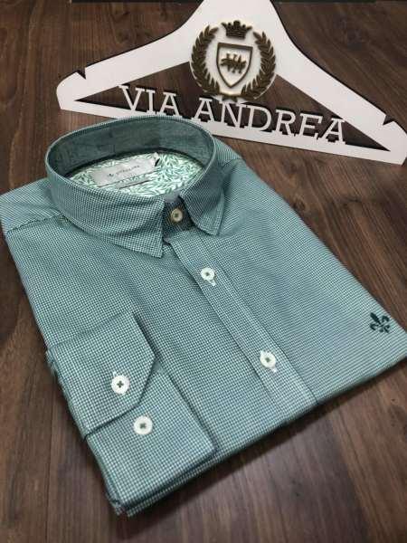 viaandrea camisa dudalina manga longa micro xadrez 2