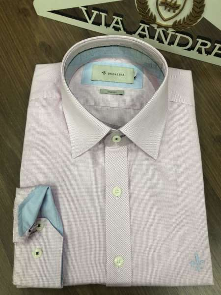 viaandrea camisa dudalina manga longa micro xadrez 4