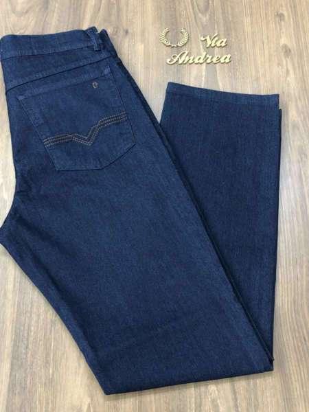 viaandrea calca jeans pierre cardin tradicional com elastano 3