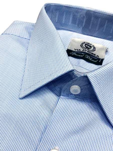 viaandrea camisa via andrea manga longa corte tradicional 1
