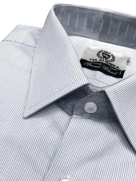 viaandrea camisa via andrea manga longa maquinetado tradicional 1