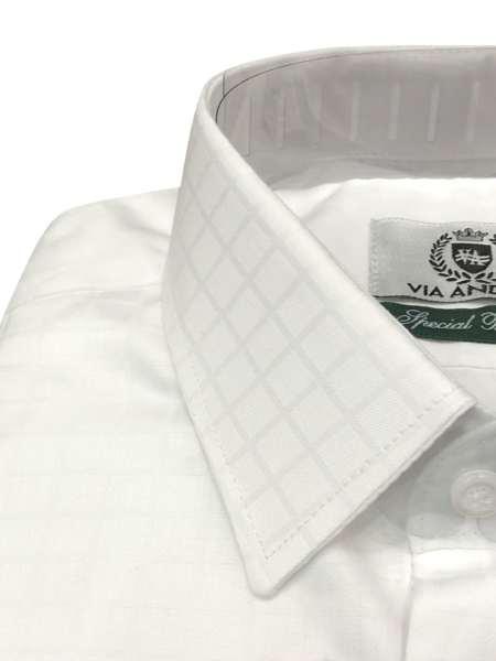viaandrea camisa via andrea manga longa tradicional fio100 maquinetado 3