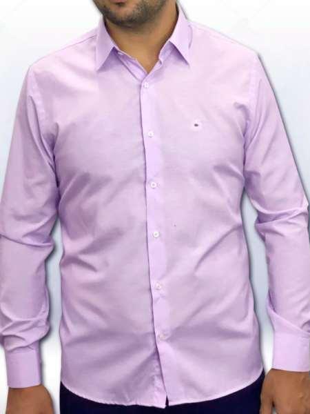 viaandrea camisa via andrea manga longa tradicional fio100 maquinetado 4