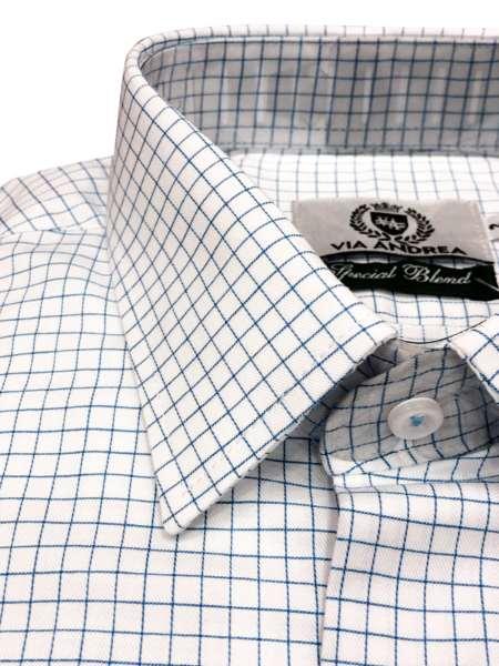 viaandrea camisa via andrea manga longa tradicional fio100 quadriculada copia 1