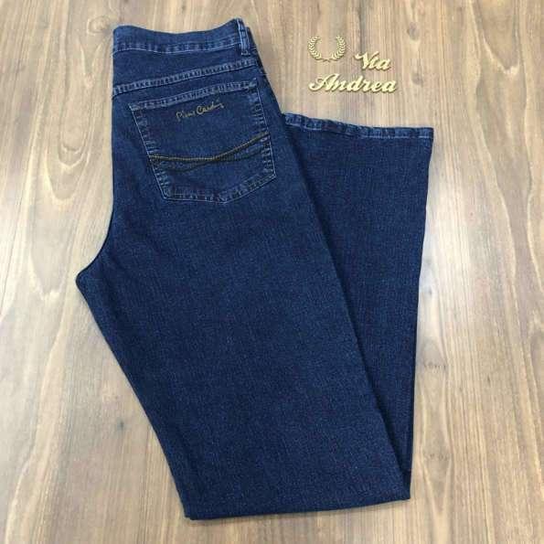 viaandrea calca jeans pierre cardin tradicional com elastano