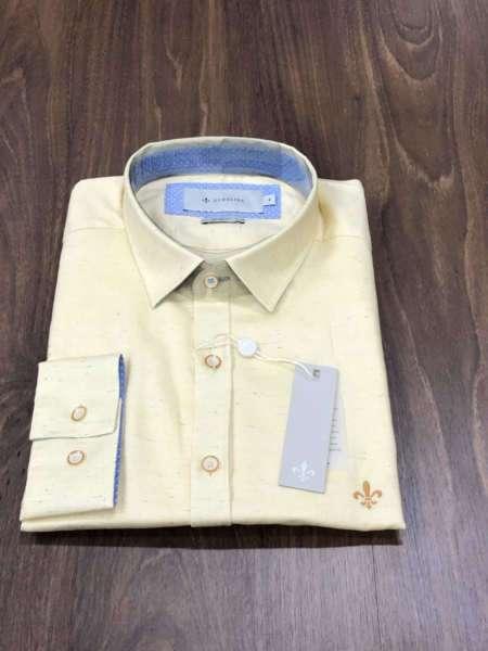 viaandrea camisa dudalina slim manga longa estampada copia
