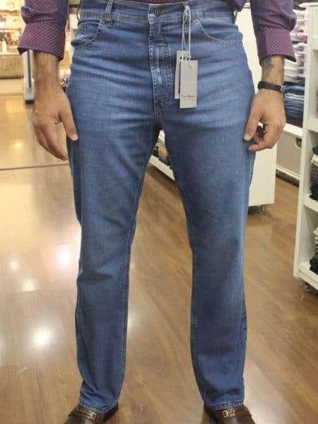 viaandrea calca jeans tradicional pierre cardin 3