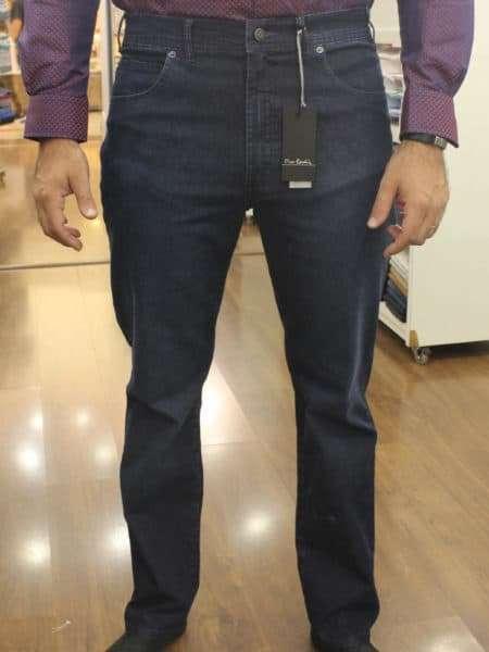 viaandrea calca jeans tradicional pierre cardin