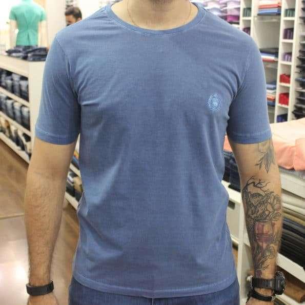 viaandrea camiseta basica mesclada via andrea 6