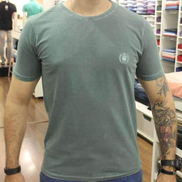 viaandrea camiseta basica mesclada via andrea 7