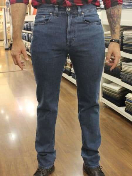 viaandrea calca jeans fideli cintura alta