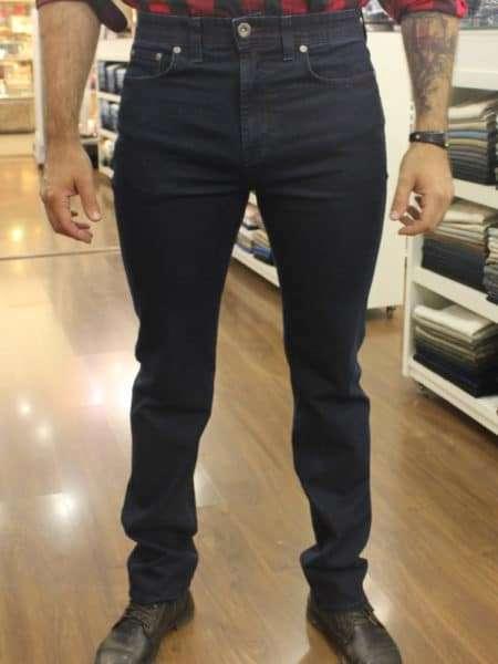viaandrea calca jeans fideli cintura alta c elastico