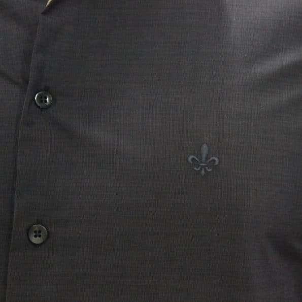 viaandrea camisa dudalina slim fit micro poa algodao egipcio 17