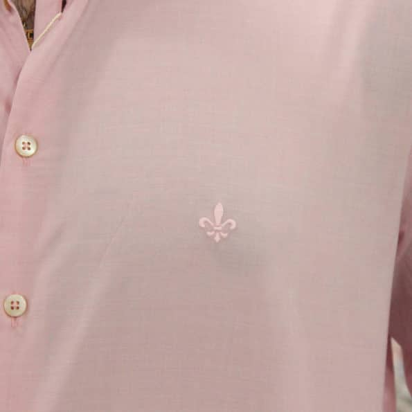 viaandrea camisa dudalina slim fit micro poa algodao egipcio 5