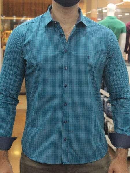 viaandrea camisa dudalina slim fit micro poa algodao egipcio 6