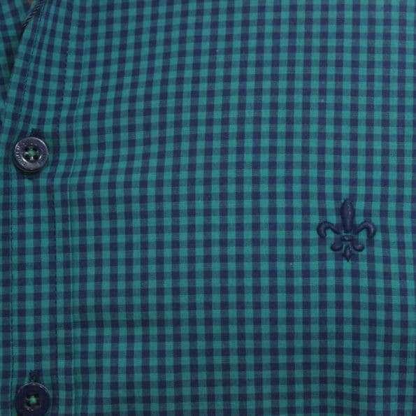 viaandrea camisa dudalina slim fit micro poa algodao egipcio 8